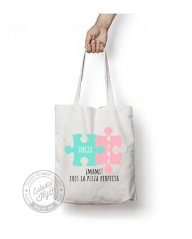 Tote Bag Mamá 2 Piezas Personalizado