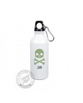 Botella Aluminio Calavera Personalizada