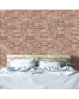 Vinilo Texturizado Efecto Red Bricks (Ladrillo) W7